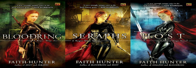 Faith Hunter, 3' Rogue Mage Series Audiobooks