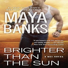 NEW Maya Banks, Book 11. Brighter Than The Sun Audiobook 'KGI Series'